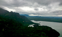 The Aliyar rervoir and the Anamalai Tiger reserve